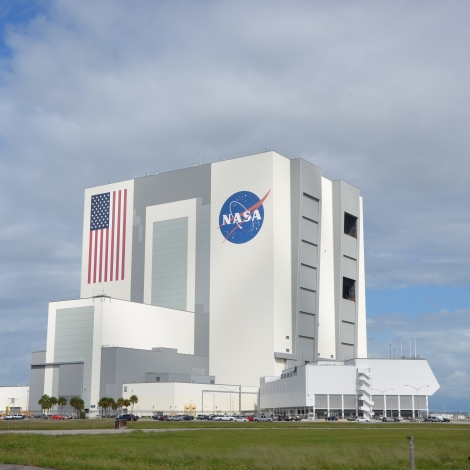 Kennedy Space Center's massive Vertical Assembly Building. Where the Saturn V and Shuttle Stacks Were Assembled