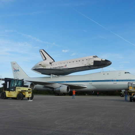 Endeavour Ready to Leave KSC